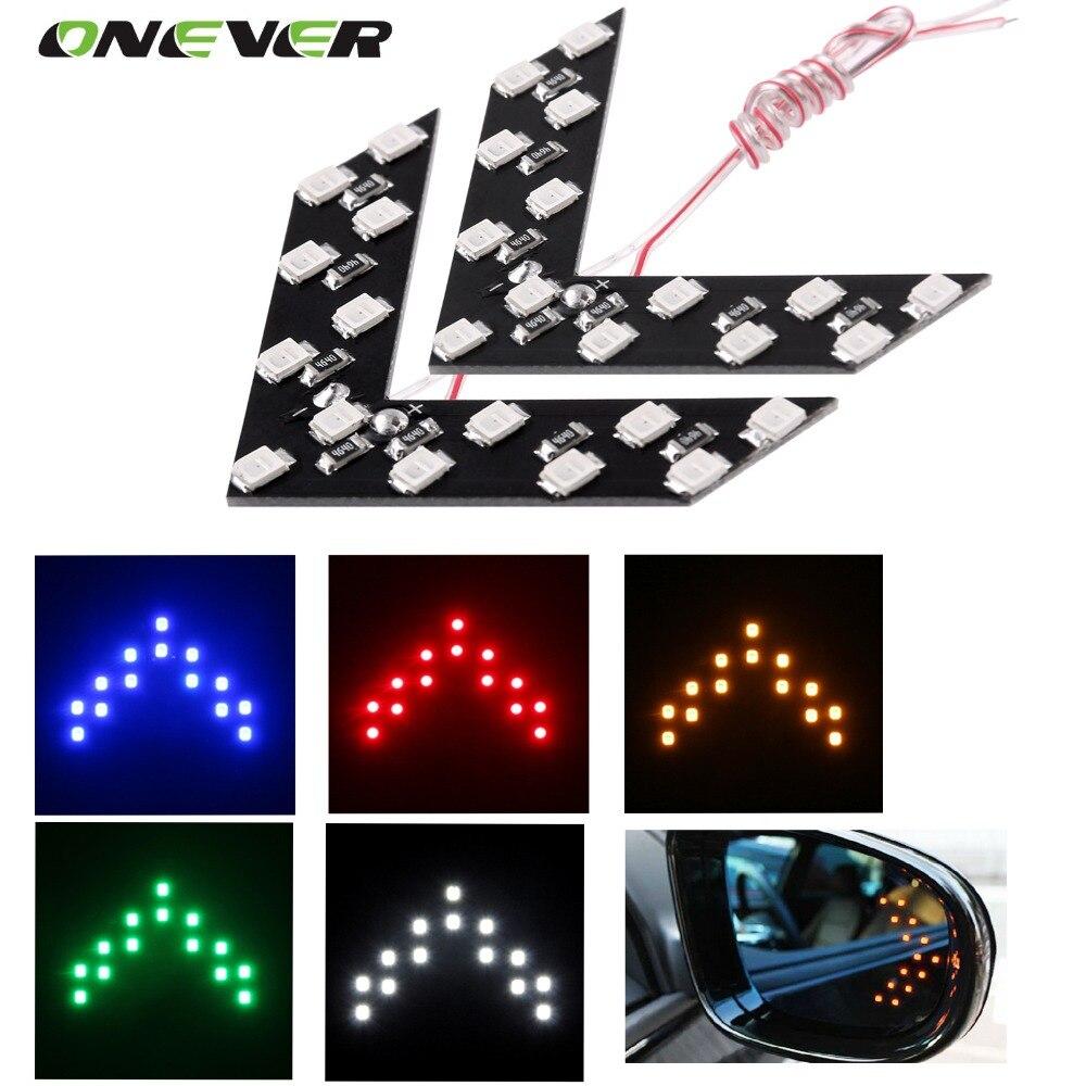 Resultado de imagen para led mirror turn signal lights GREEN