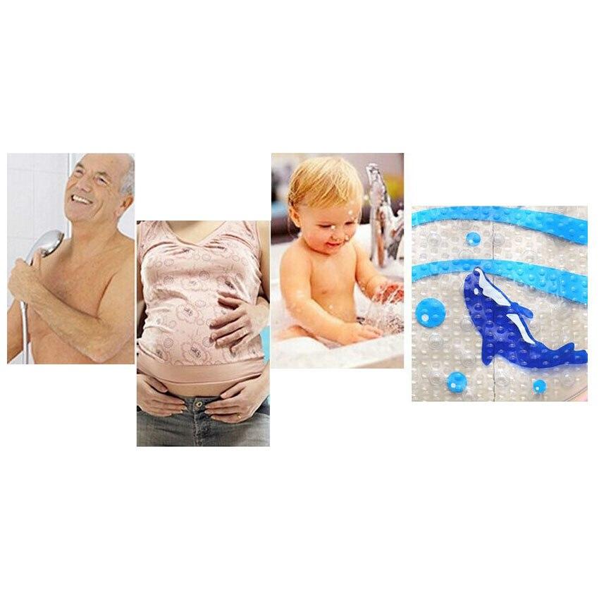 Cizgi filmi Dolphin PVC Hamam Mat Hamam Ayaqyolu Hamam tualeti - Ev əşyaları - Fotoqrafiya 3