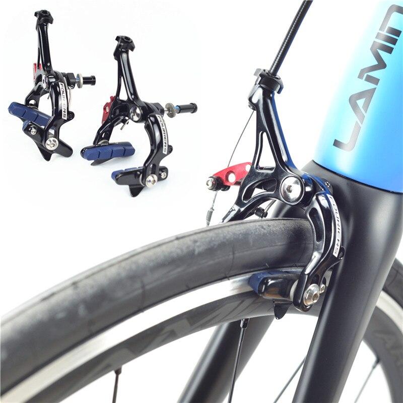 Étrier de frein de vélo à double PIVOT en aluminium/carbone ultraléger pour vélo de route, avec dégagement rapide/frein à étrier de vélo
