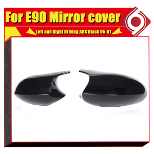 Image 5 - Зеркальная крышка M3 Look, сменная крышка из АБС пластика для BMW E90 3 серии Sedan 1:1, боковая зеркальная крышка 2005 2007