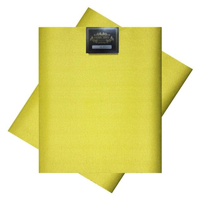 SL-1410, מכירה לוהטת, אפריקאי סגו headties, Gele, 2 יח'\סט, באיכות גבוהה, צבעים רבים זמינים, צהוב