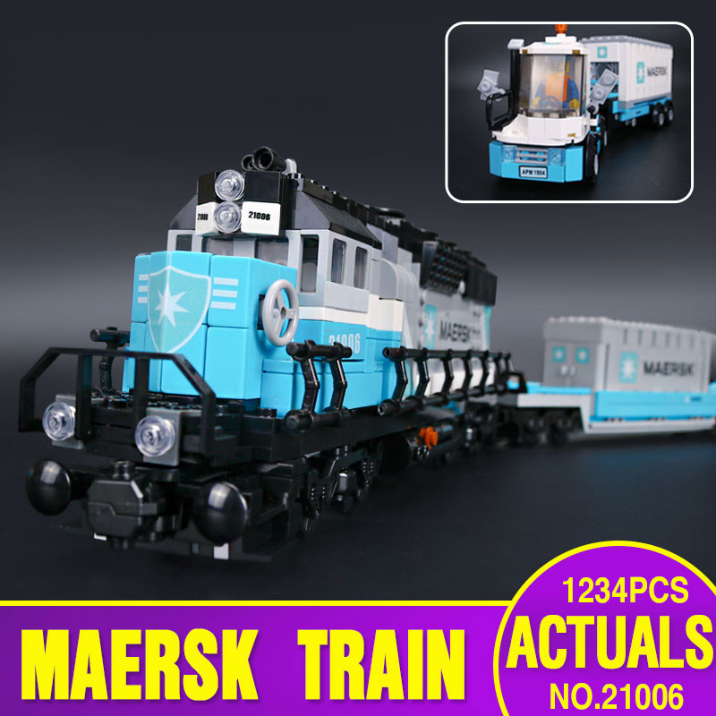 DHL 21006 Genuine Technic Ultimate Series The 10219 Train Set Educational Building Blocks Bricks Assembly Kids