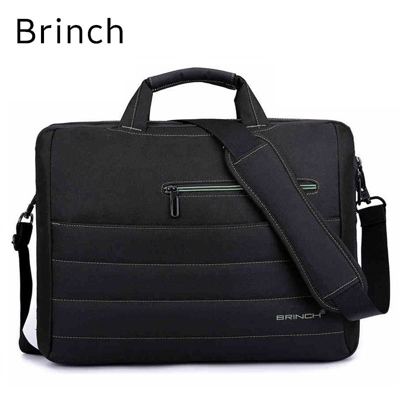 2018 New Brand Brinch Nylon Messenger Handbag For Laptop 15,15.4,15.6,17,17.3, Bag For Macbook Notebook, Free Drop Shipping 2017 new fashion women backpack pu leather girls school bag women casual style shoulder bag backpack for girls backpack