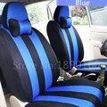 Высокое Качество Автомобиля Чехлы для Сидений Hyundai solaris ix35 ix25 i30 Elantra МИСТРА GrandSantafe акцент tucson автомобильные аксессуары стикер