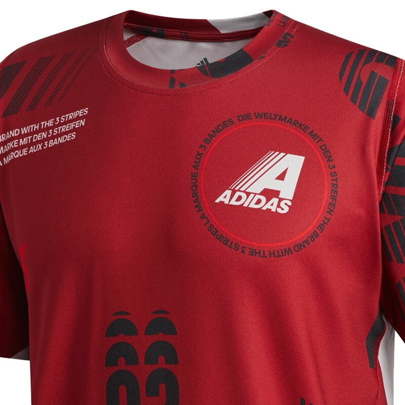 Image 3 - Original New Arrival  Adidas  DAILY AOP TEE Mens T shirts short sleeve Sportswear-in Running T-Shirts from Sports & Entertainment on AliExpress