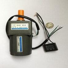 цена на VTV MINI YN60-6 6 watt 110 Volts low speed 75 rpm Ac Motor Single Phase Synchronous Motor with Capacitor Gear Box