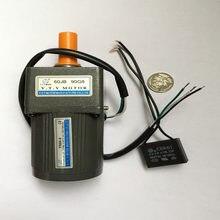 Vtv мини yn60 6 Вт 110 вольт низкая скорость 75 ОБ/мин двигатель