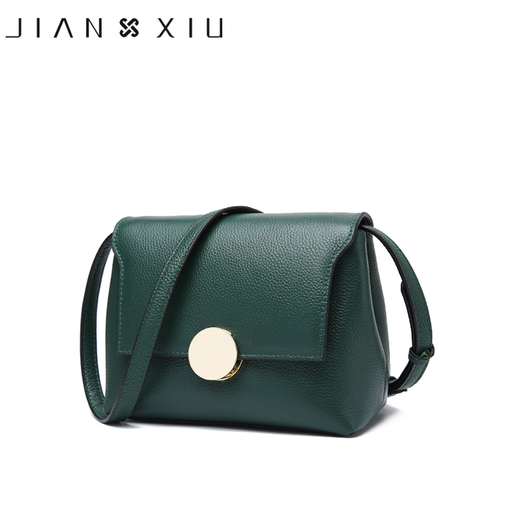 JIANXIU Brand Fashion Genuine Leather Bag Sac a Main 2017 Small Female Shoulder Crossbody Bag High Quality Women Messenger Bags jianxiu brand fashion women leather handbags crocodile pattern messenger bags sac a main small shoulder crossbody bag chain tote