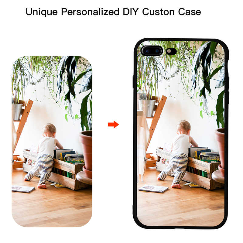 Customized DIY Printed Soft Cute Phone case for Samsung S10 S9 Plus for huawei P10 P20 For iphone XS Max Custom made Photo Case
