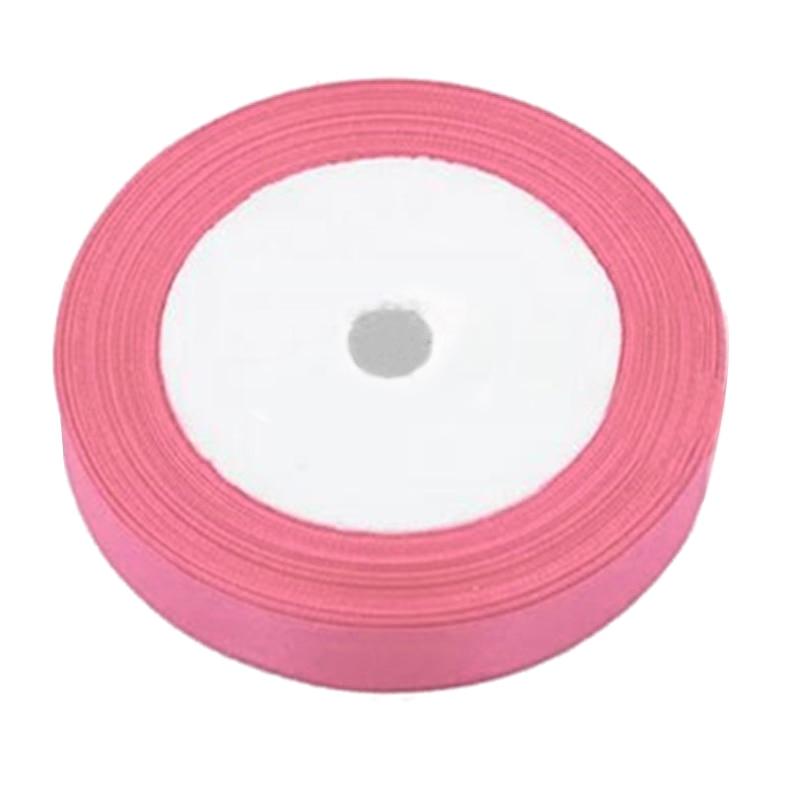 1 рулон шелковые, атласные ленты для Свадебная вечеринка (в розовом) 22 м длинные (25 ярдов) ширина 25 мм