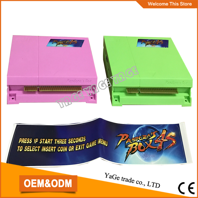 ФОТО Best price!!! 680 in 1 Multi Arcade PCB Game Board,Vga Game-Pandora's Box 4S Jamma multi game box