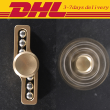 20 PCS DHL Wholesale Metal Alloy Two-spinner Fidget Hand Spinner EDC Toys Fidget Spinner Autism and ADHD Rotation Long Time Toys