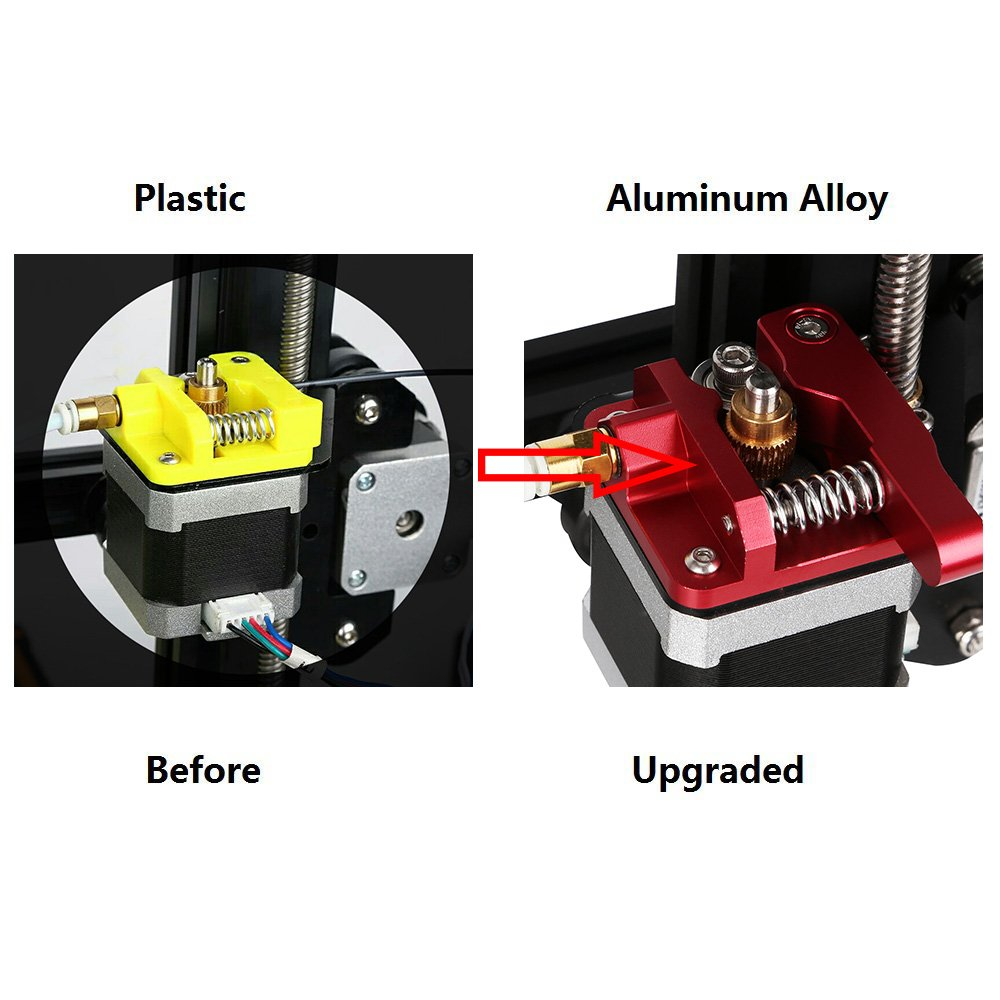CR 10 Extruder Upgraded Replacement Aluminum MK8 Drive Feed