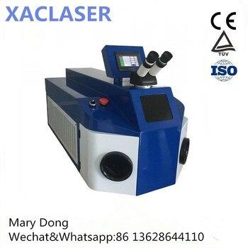 100 W 200 W precio barato alta resolución Venta caliente de joyería de punto máquina de soldadura láser para oro/plata/ joyas de titanio/platino y