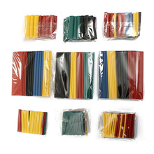 High 328pcs Set Polyolefin Shrinking Assorted Heat Shrink Tube Insulated Wire Cable Sheath  LG66