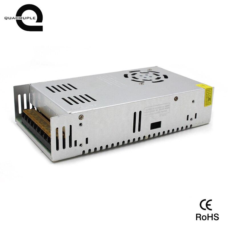 Quadruple meilleure qualité 5 V 70A 350 W pilote d'alimentation pour bande de LED AC 100-240 V entrée à DC 24 V livraison gratuite
