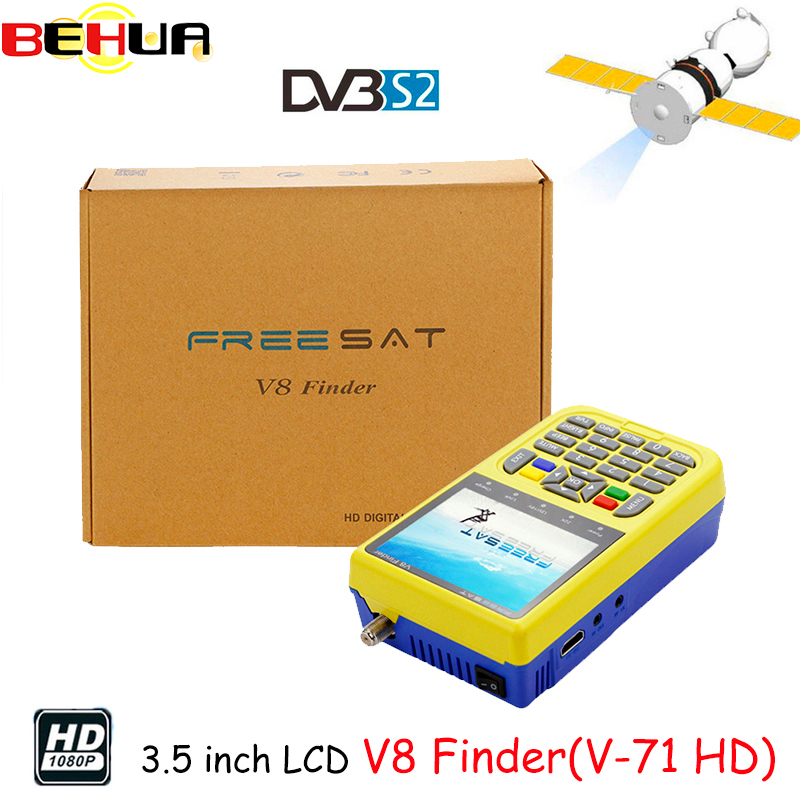Digital Satellite v8 Finder Satellite HD DVB-S2 High Definition Satellite Finder MPEG-2 MPEG-4 Freesat satellite finder pk 6933 [genuine] freesat v8 finder hd dvb s2 s high definition satellite finder mpeg 2 mpeg 4 freesat satellite finder meter v 71 hd