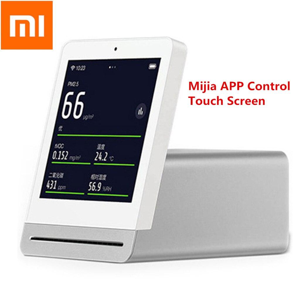Xiaomi Mijia ClearGrass moniteur d'air rétine tactile IPS écran Mobile opération tactile intérieur extérieur clair herbe détecteur d'air - 2