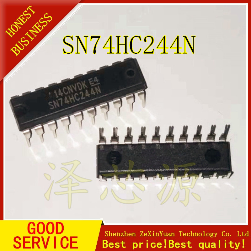 10PCS SN74HC244N DIP20 SN74HC244 DIP 74HC244N 74HC244 New Original IC