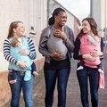 Многофункциональный Новорожденного ребенка Слинг Подтяжки Кенгуру Слинг Держатель Ремня Малышей Младенческой Безопасности Открытый Длинные Твердые Носители
