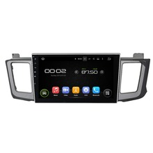 10.1″ Android 6.0 Octa-core Car Multimedia Player For TOYOTA RAV4 2012-2015 Car Video Audio Without DVD Car Stereo Free MAP