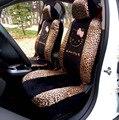 10 шт. Универсальные Автомобильные Чехлы На сиденья Leopard Мультфильм Универсальный Hello Kitty Автомобилей Чехлы Универсальный Автомобиль Аксессуары Для интерьера