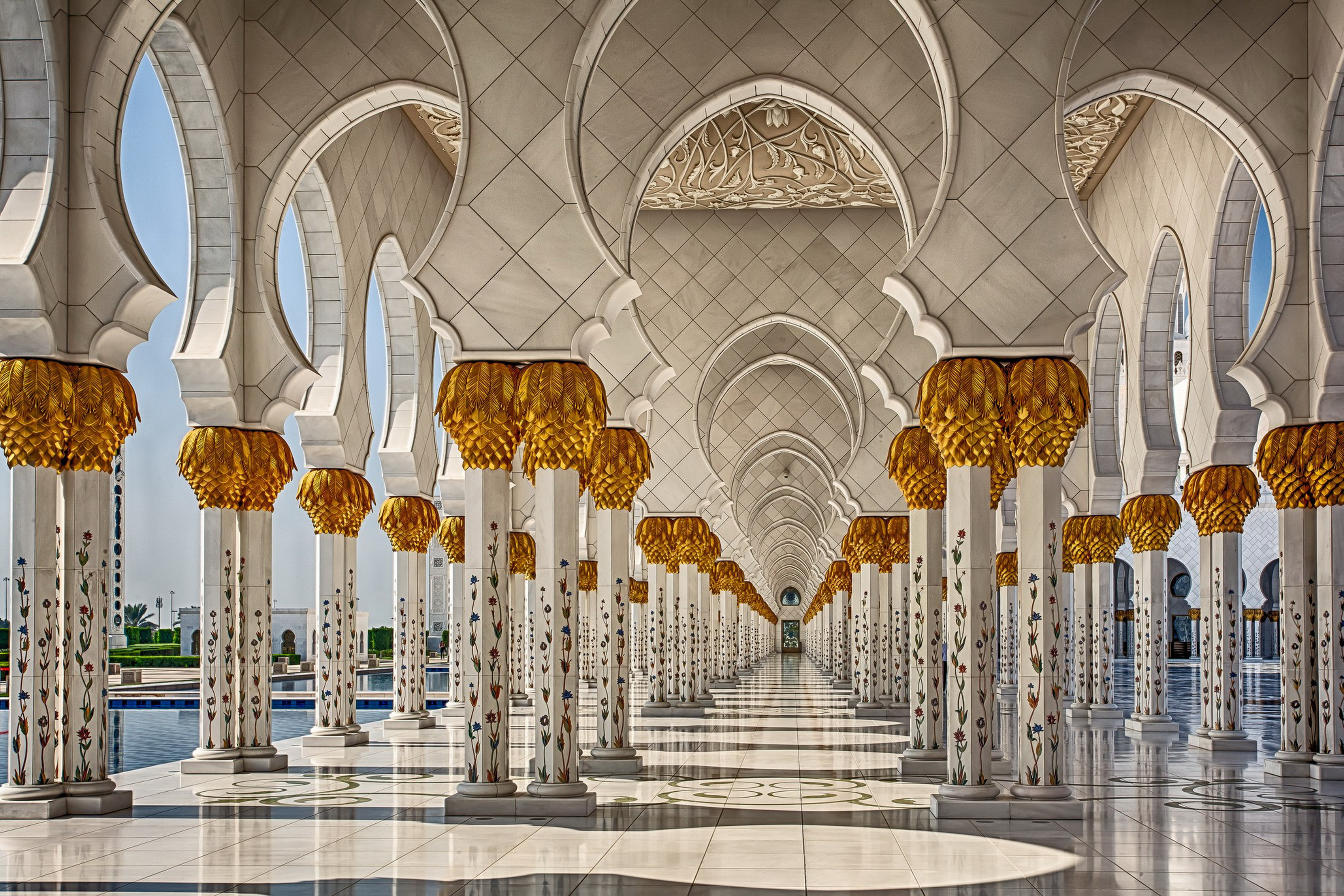 popular home interiors painting buy cheap home interiors painting home decoration architecture interiors abu dhabi mosques united arab emirates pillars arches silk fabric poster print