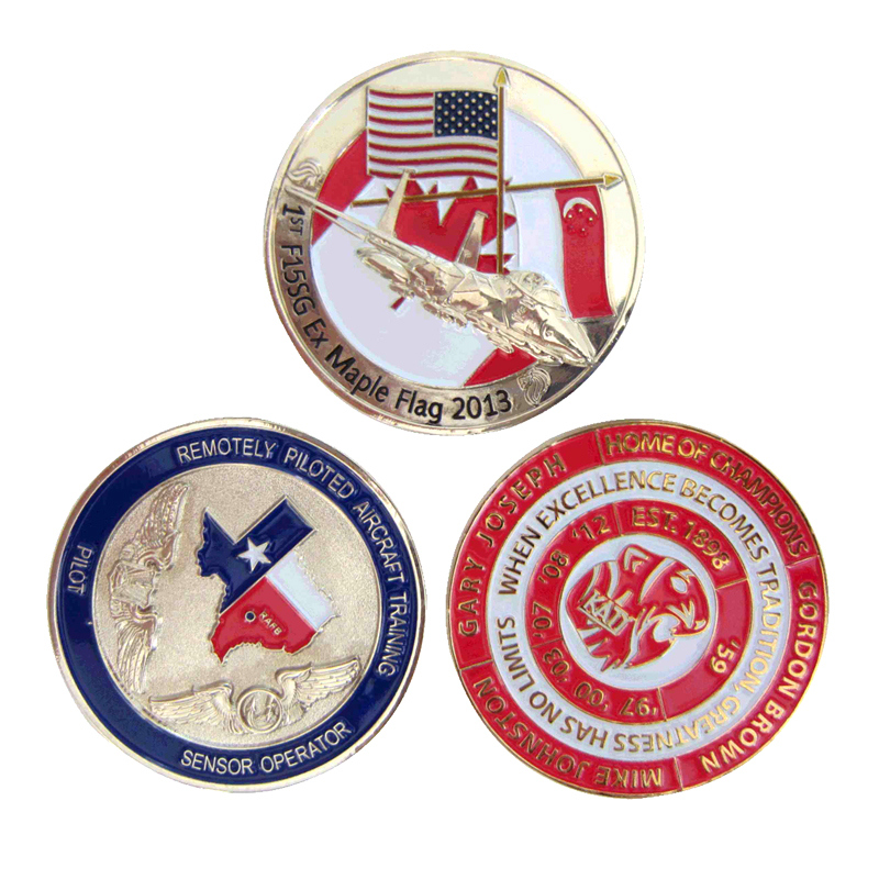Wholesale manufacturers American Airlines Military Coins