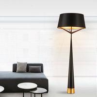 Eixo moderno s71 lâmpada de assoalho sala estar designer preto piso diâmetro 60cm h 170cm para sala estar quarto piso luzes fa015