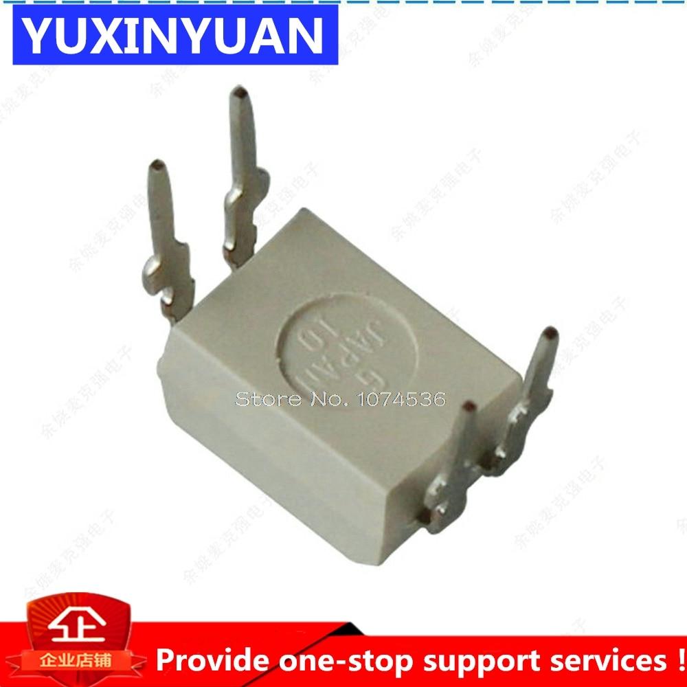 10PCS TLP421GB Photocoupler GaAs IRed /& Photo-Transistor DIP4