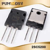 50PCS/lot 2SC5200 SC5200 TO-3PL 5200 Bipolar transistor bipolar junction type (BJT) NPN 230V 15A 150W IC