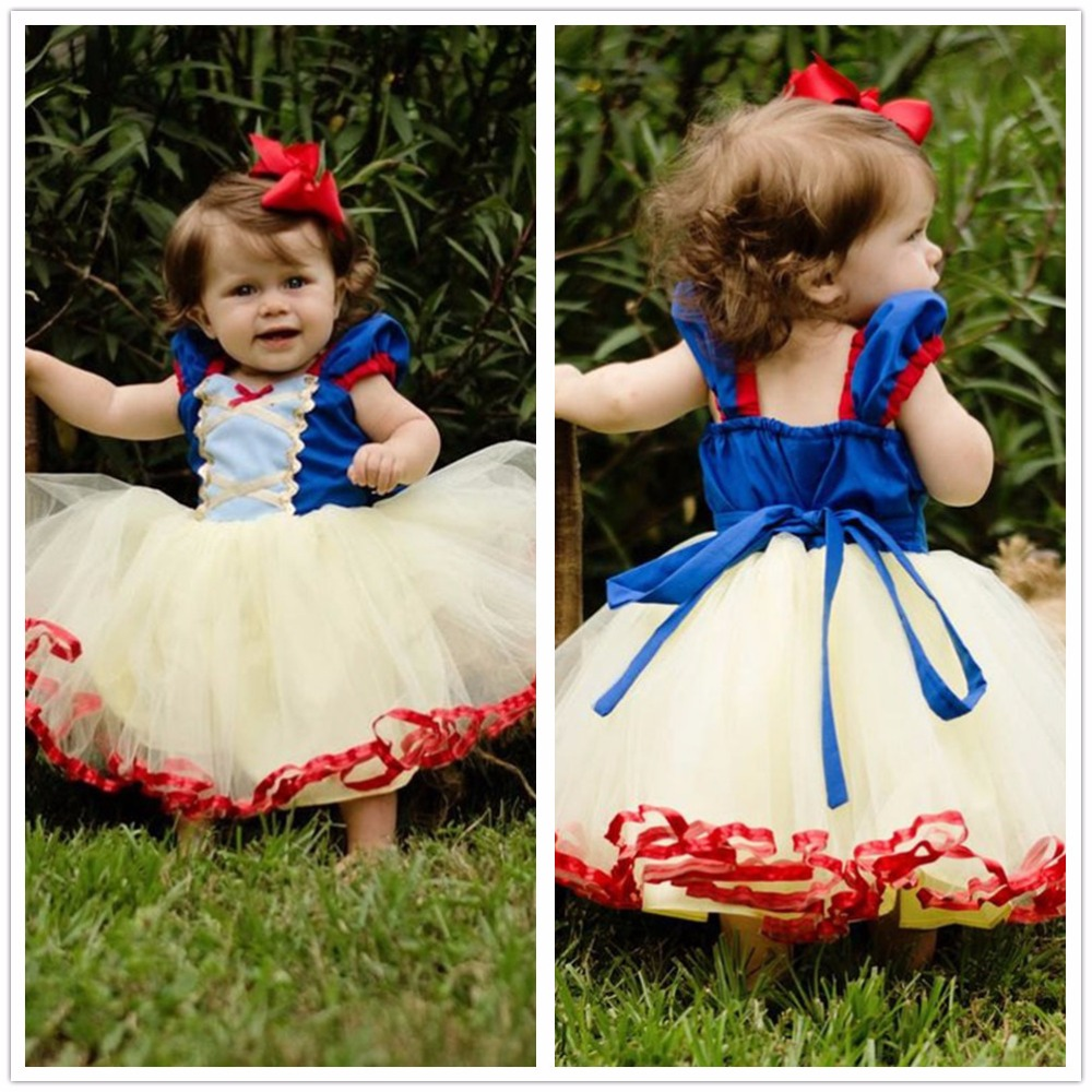Fantasy Princess Girl Tutu First Christmas Gift Dress Halloween Costume For Girls Clothes Kids Fancy Party Prom Gown 1 To 5 Year