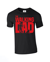 The Walking Dad T-Shirt Funny Dead Fathers Day Grandad Gift (Walking, Tshirt) New T Shirts Funny Tops Tee New Unisex Funny Tops цена и фото