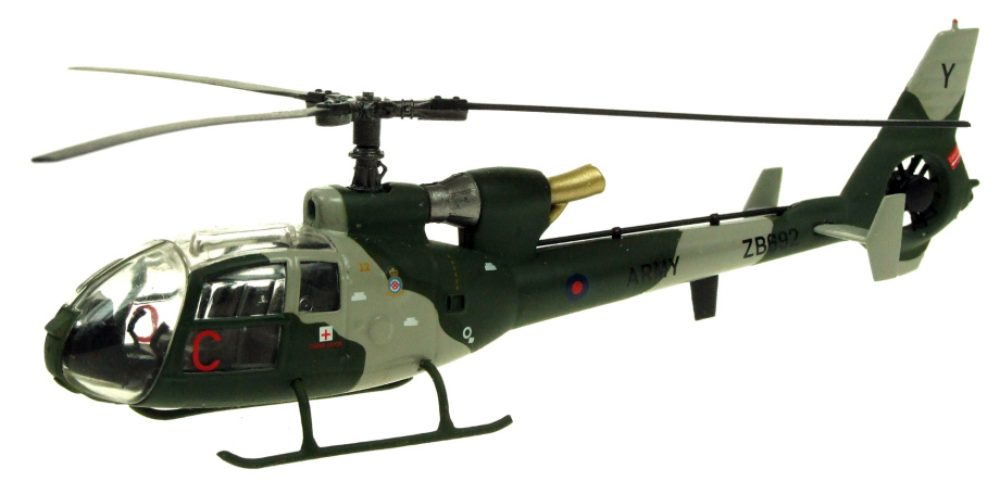 AV72 1/72 The British Army gazelle AH.1 helicopter AV7224004 Alloy collection model Holiday gift cd billie holiday the centennial collection