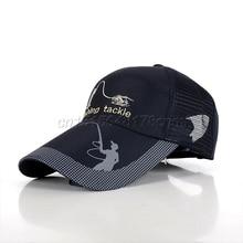 1 шт многоцветная наружная рыболовная Кепка Солнцезащитная Спортивная рыболовная шляпа для рыбалки мужчин