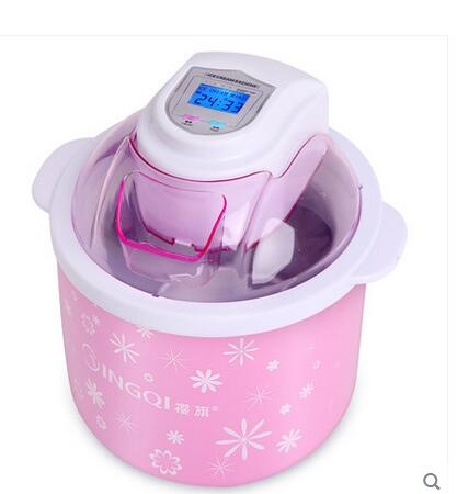 Fruit ice cream machine household automatic ice cream cones for children Popsicle ice cream machine household automatic machine fruit ice cream feeder from factory selling gelato fruit nuts mixer