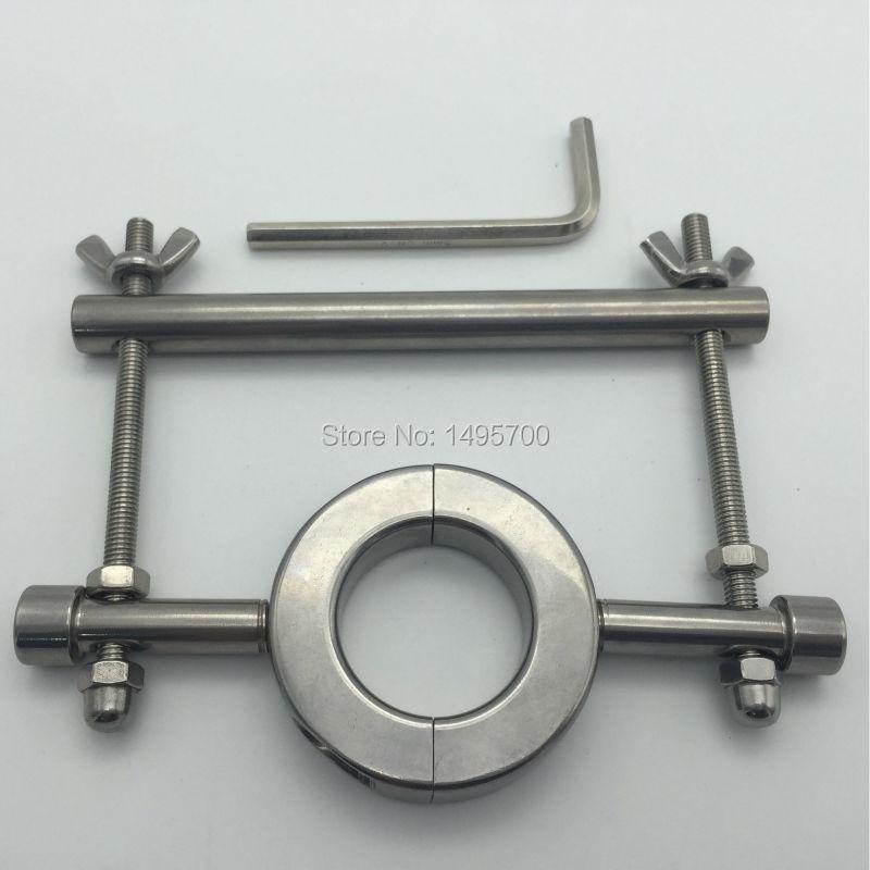 Stainless steel heavy - duty testicle clamp Egg - egg binding ring elongation stretch дырокол deli heavy duty e0130