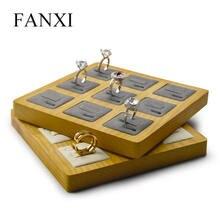 Подставка для колец fanxi деревянная витрина ювелирных изделий