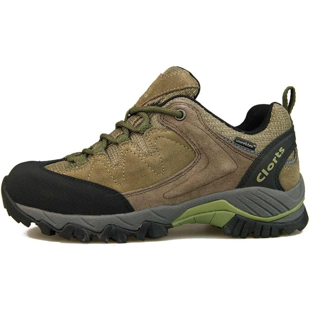 791391709f2 Clorts Tourist Boots Hiking Shoes for Men Women Breathable Anti-bacterial  Insole Trekking Sneakers HKL-806