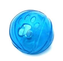 Pet Dog Cat Treat Holder Crystal Puppy Ball IQ Toy Pet Toy Intelligence Toys 6.5cm