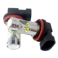 60W White Extremely Bright Error Free 1156 1157 9005 9006 H4 H7 H8 H11 T20 T25 12SMD LED Daytime Running Bulbs For Fog Lights