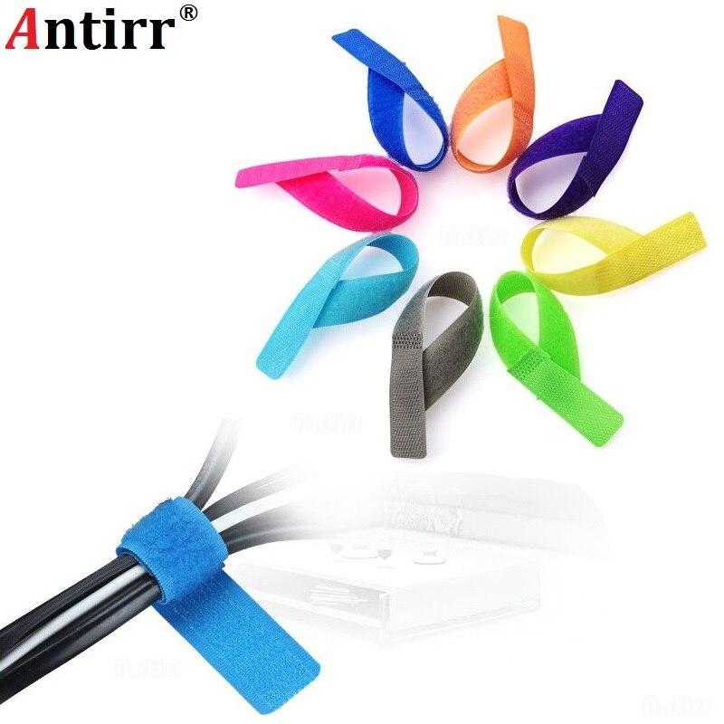 1 Unidad De Color Usb Cable Bobinador Marca Correa De Banda Magic Strap Organizer Cable De Gestión De Auriculares Ratón Teclado Gerente