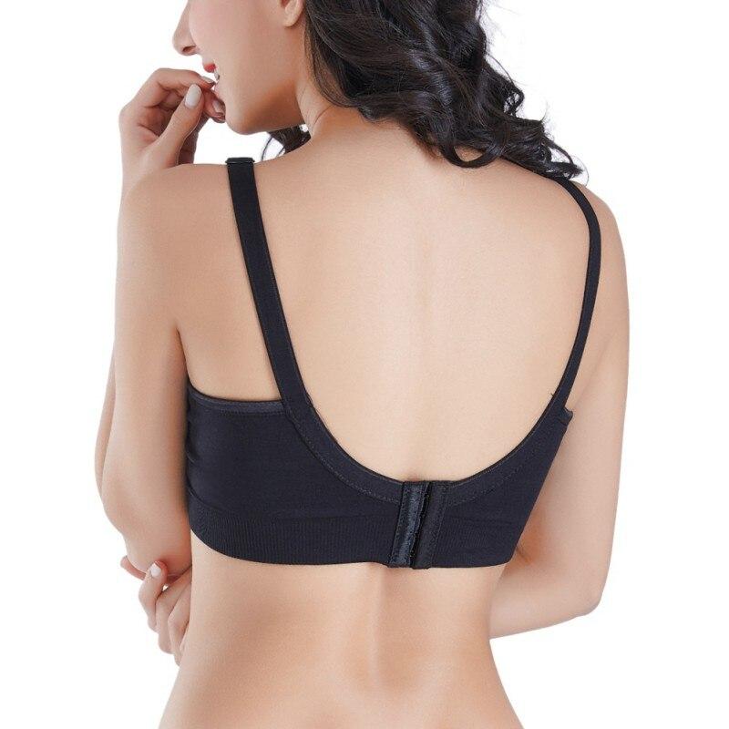 Active Bra 2019 Nursing Bra Maternity Breastfeeding Bra Prevent Sagging for Pregnant Women Seamless Solid Underwear Plus Size