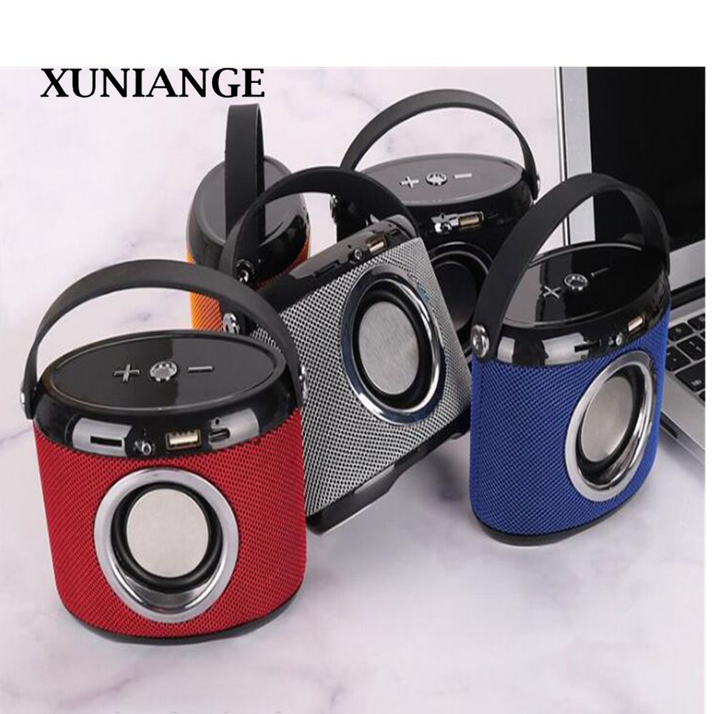 XUNIANGG21 Mini Outdoor Portable Speakers Computer Phone Bluetooth Speakers Card Waterproof Speakers