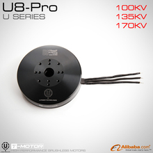 T-MOTOR professional Efficiency U-POWER MOTOR U8 pro KV170 for UAV