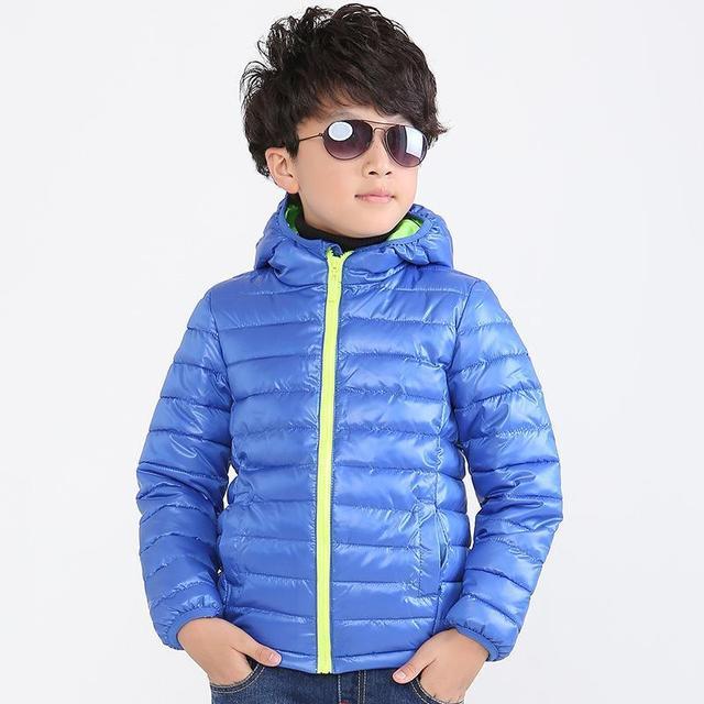 2016 новая мода мальчиков зимнее пальто, мода дети куртка детская одежда