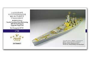 Five Star FS700037 Metallic etching Kit for upgrade and Transformation of Washington Battleship недорго, оригинальная цена