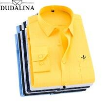 Dudalina 2019 Camisa Social Masculina Men Shirt Long Sleeved