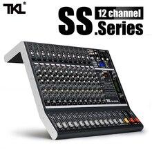 TKL SS1200 USB Chuyên Nghiệp Trộn Âm Thanh 12 Kênh Trộn Âm Thanh Máy Bluetooth Với 16 Âm Vang Cân Bằng