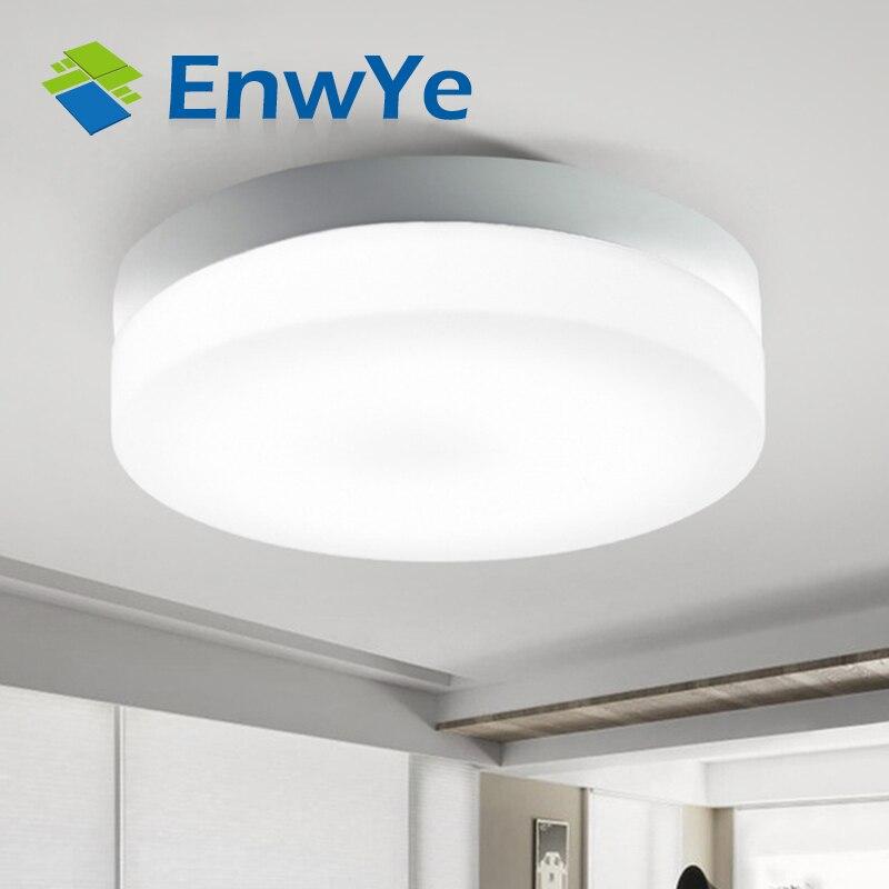 Moderno led 220 V 10 W 15 W 20 W 30 W 40 W soffitto luci per Corridoio bagno rotonda alluminio Acryl lampada LED ad Alta luminosità